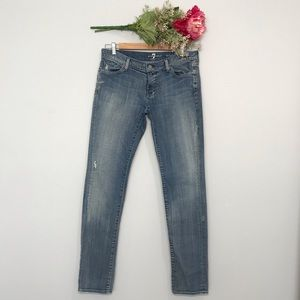 7 For All Mankind | Roxanne Skinny Jeans SZ 30